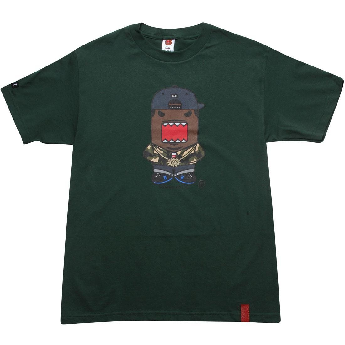 BAIT x Domo Rapper Tee (dark forest green)