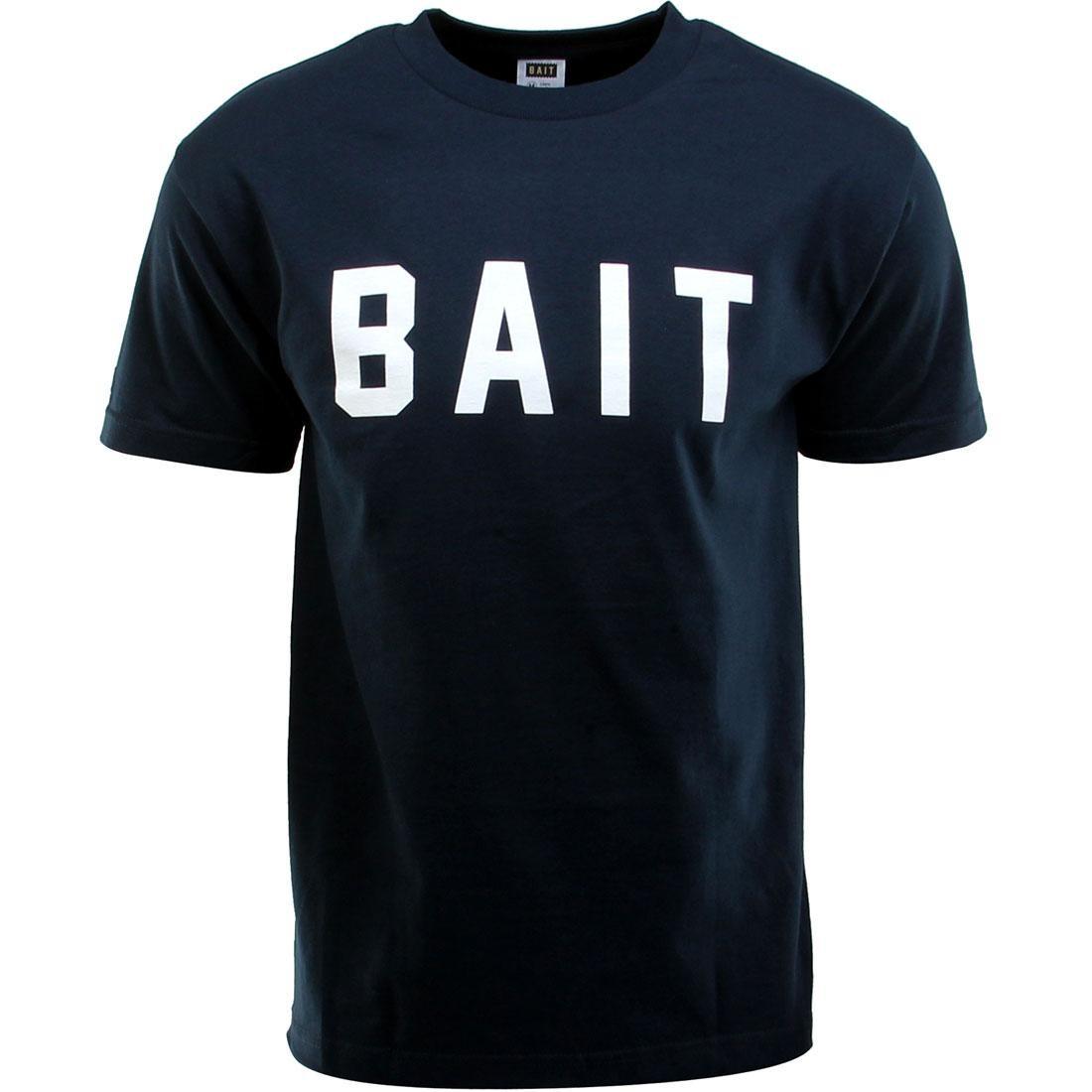 BAIT Logo Tee (navy / white)