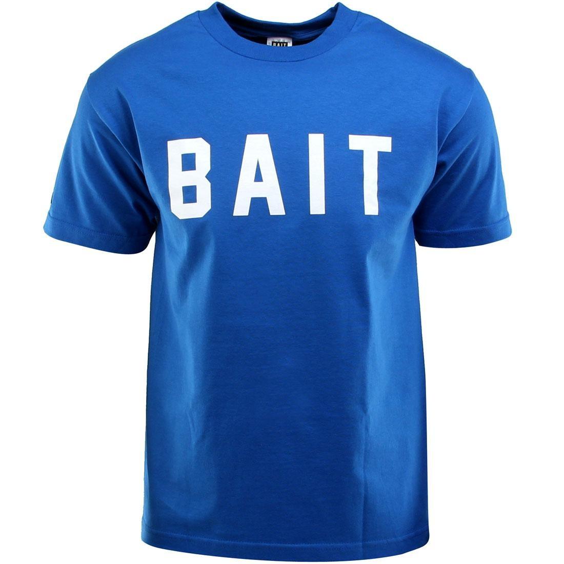 BAIT Logo Tee (blue / royal blue / white)