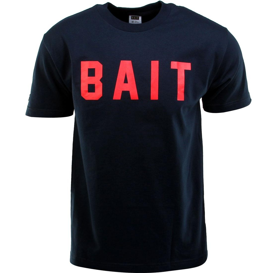 BAIT Logo Tee (navy / red)