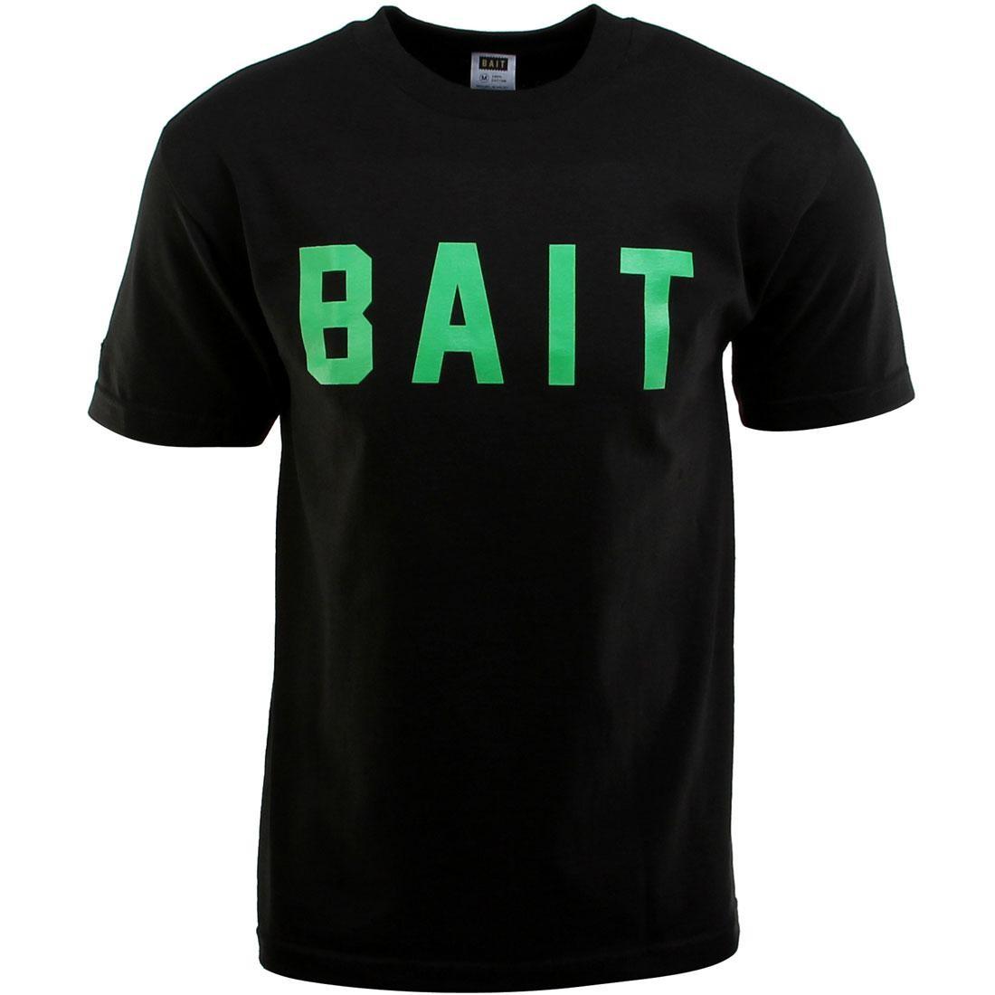BAIT Logo Tee (black / green)