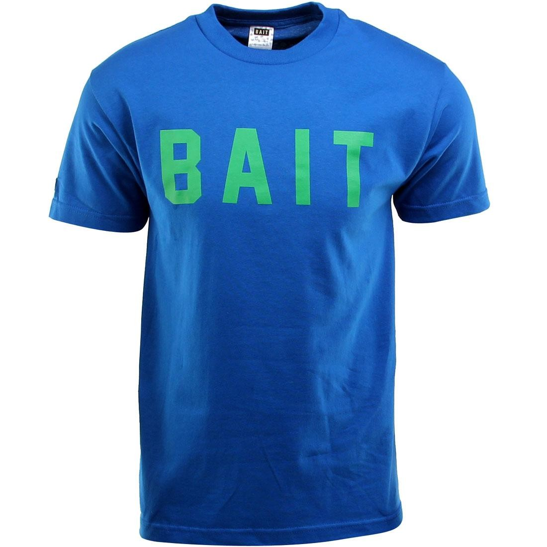 BAIT Logo Tee (blue / royal blue / green)