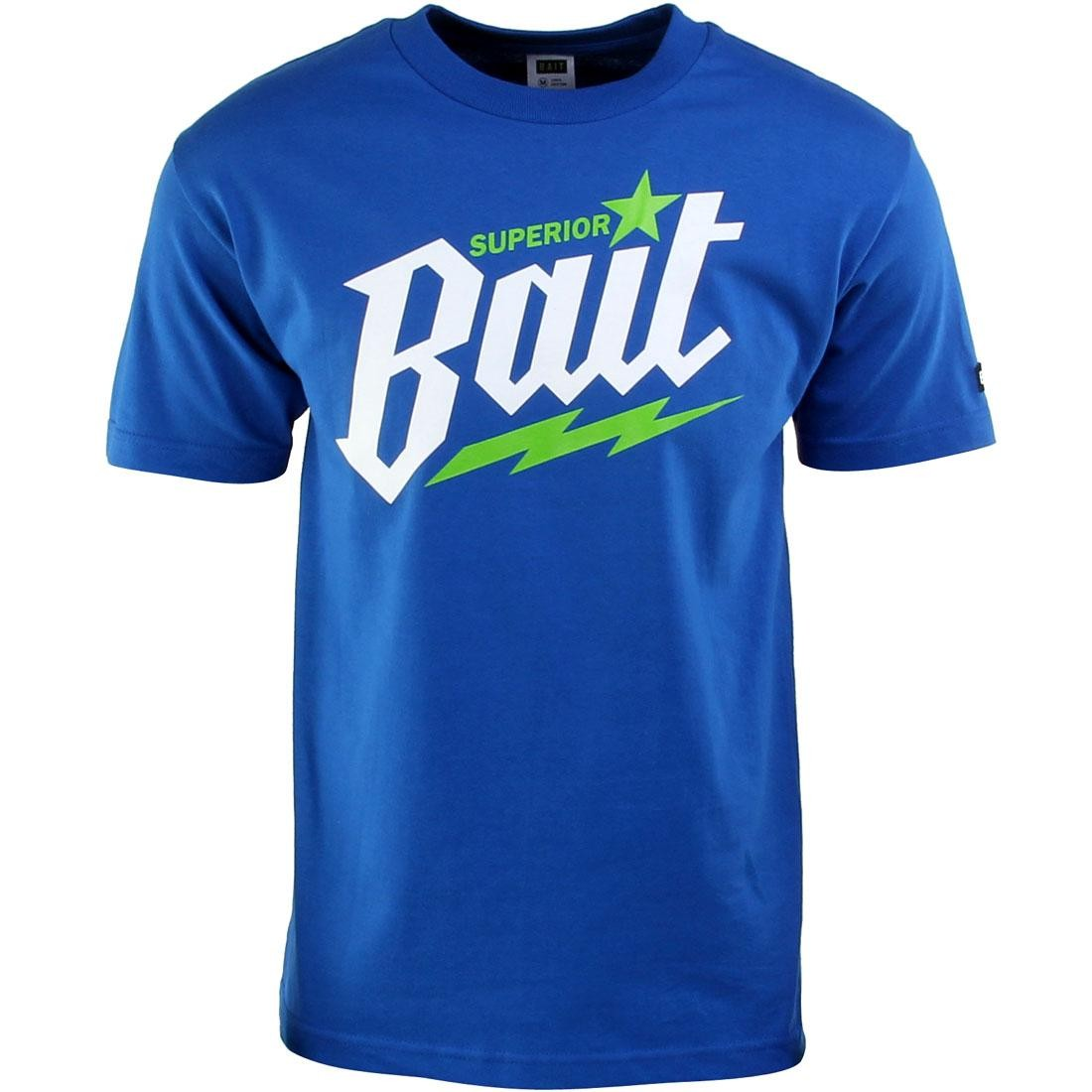 BAIT Superior BAIT Tee (blue / royal blue / white / green)
