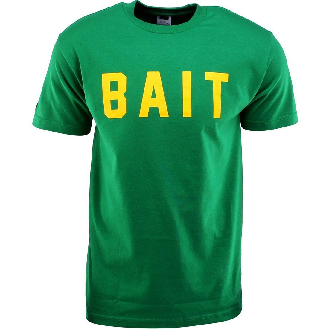 BAIT Logo Tee (green / kelly green / yellow)