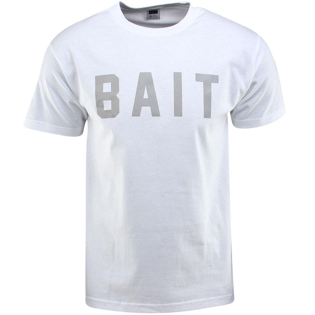 BAIT Logo Tee (white / gray)