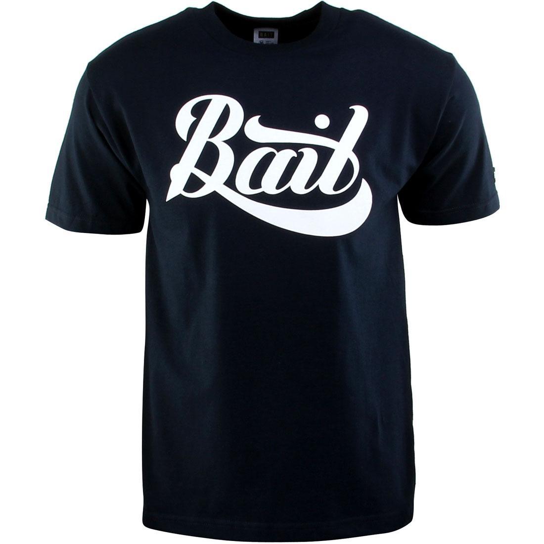 BAIT Script Logo Tee (navy / white)