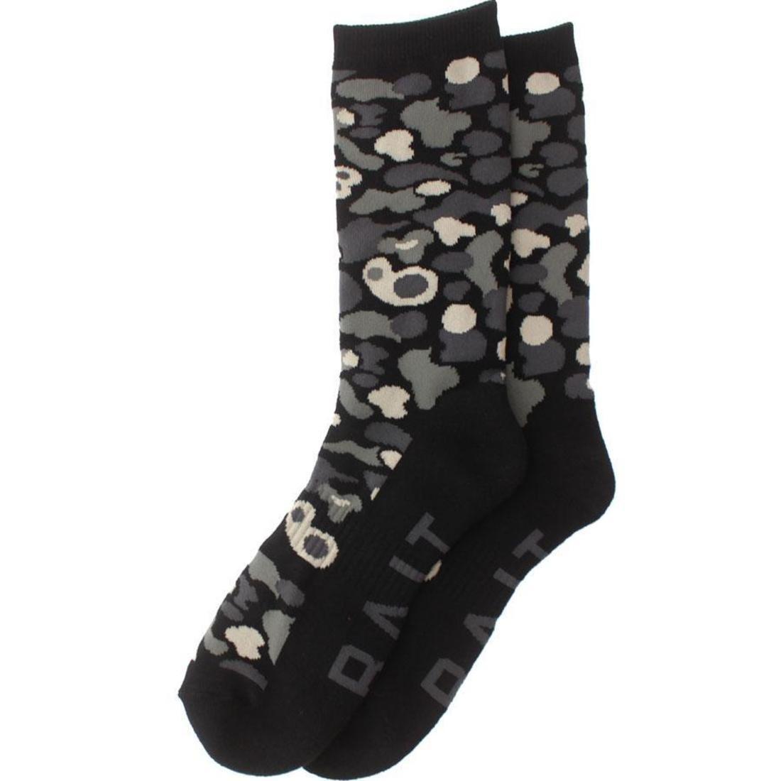 BAIT Camo Crew Socks (camo / black) 1S