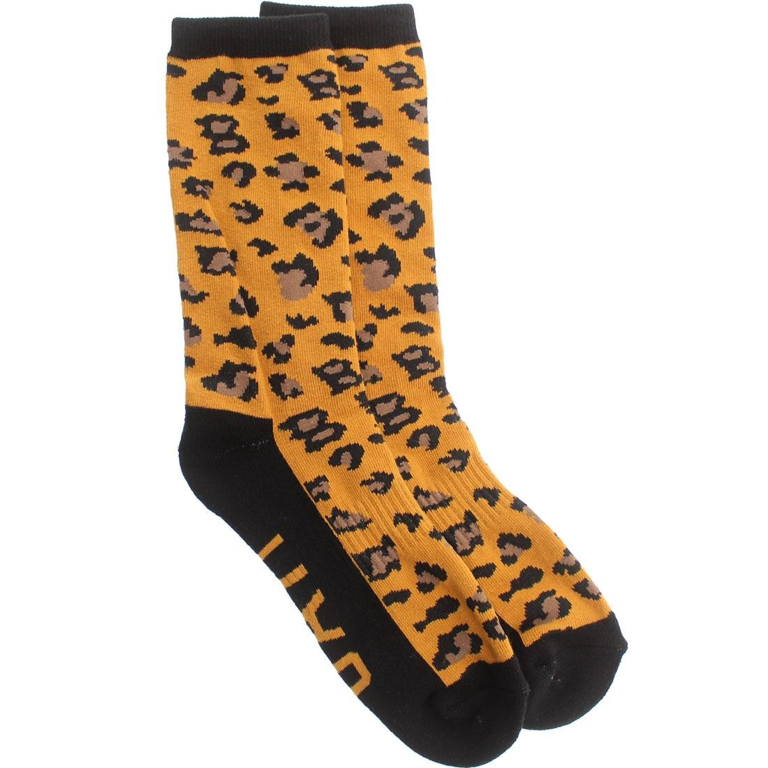 BAIT Cheetah Crew Socks (orange) 1S