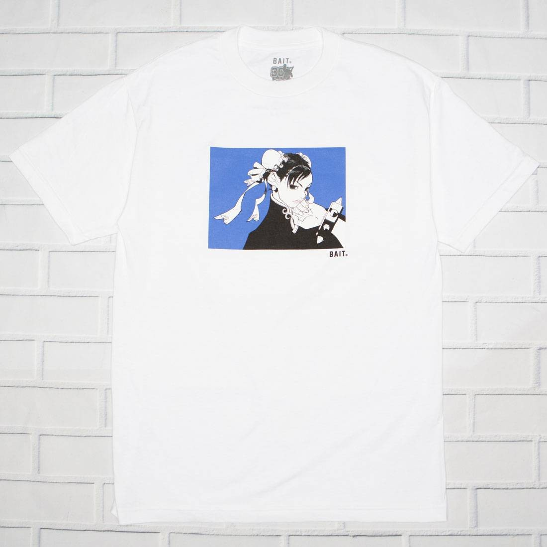 BAIT x Street Fighter Men Chun Li Stamp Tee (white)
