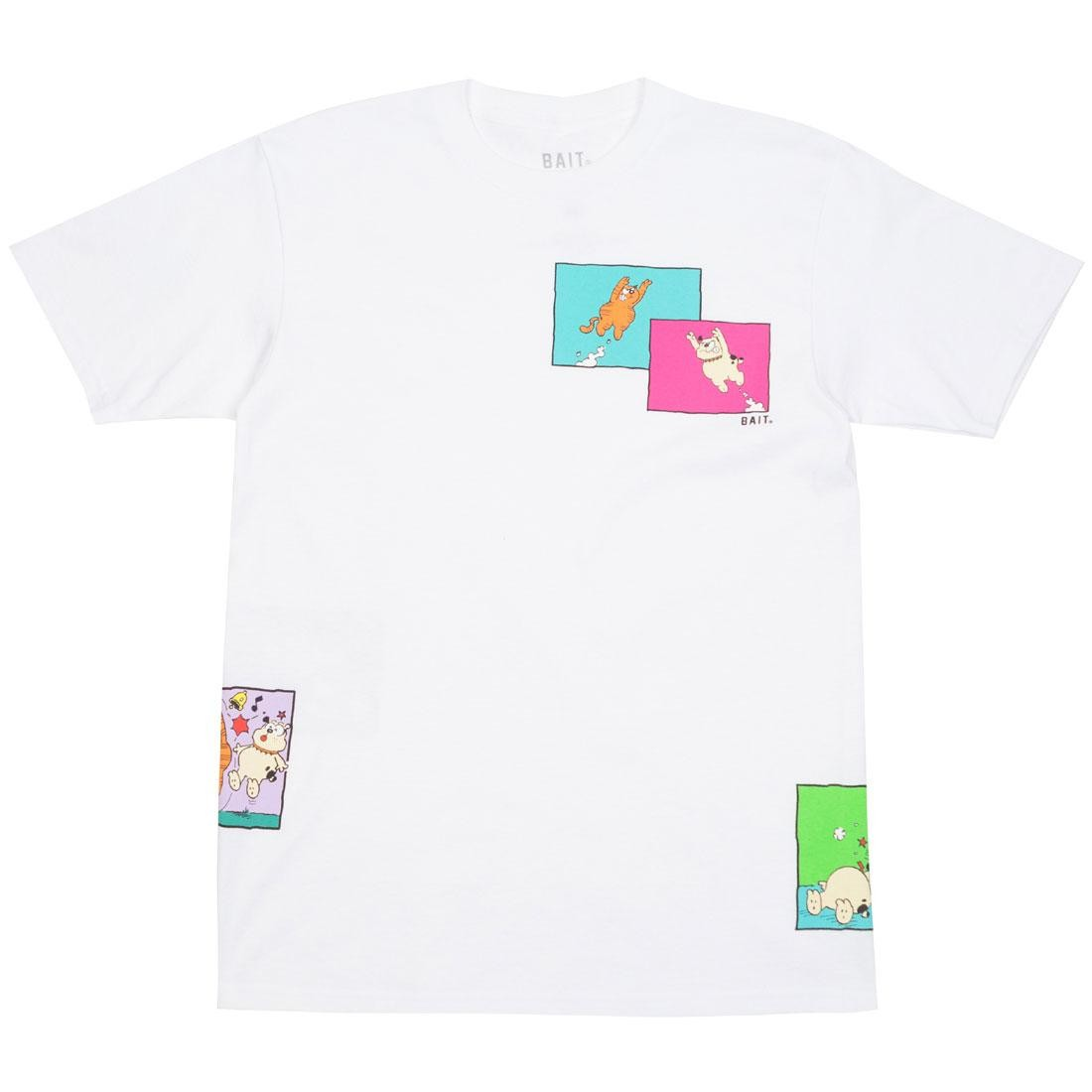 BAIT x Heathcliff Men Comic Strip Tee (white)