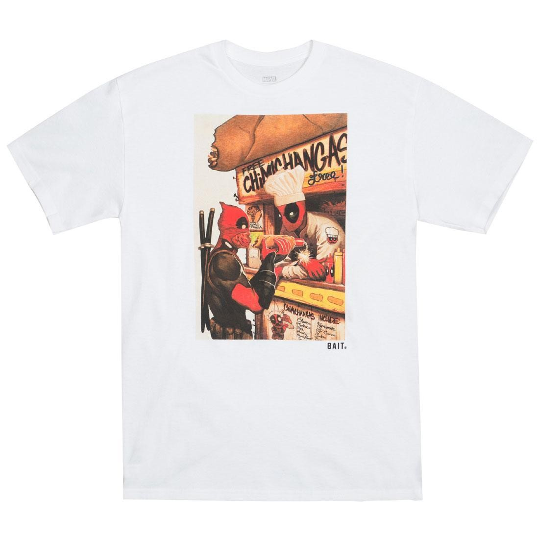 BAIT x Marvel Men Deadpool Chimichanga Tee (white)