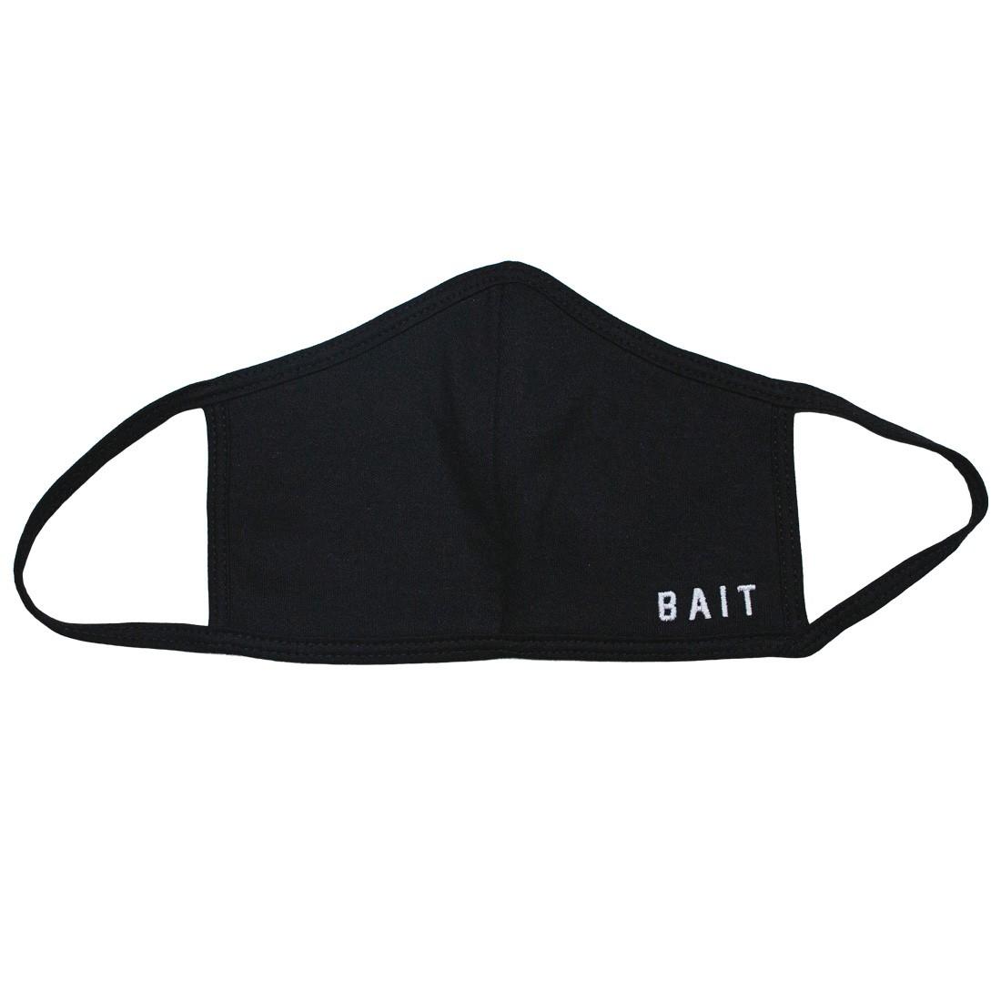 BAIT Embroidered Logo Face Mask (black)