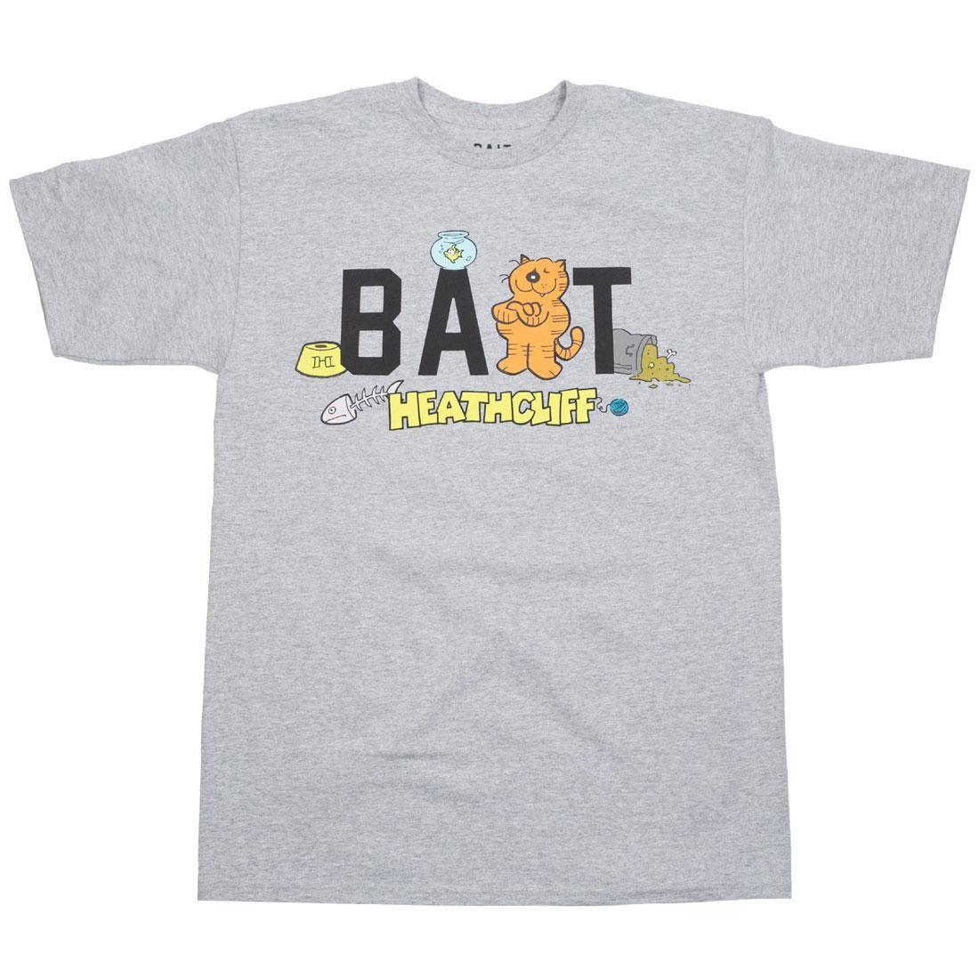BAIT x Heathcliff Men Logo Tee (gray / heather)