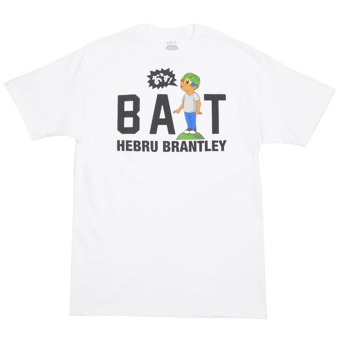 BAIT x Hebru Brantley Men BAIT Shout Logo Tee (white)