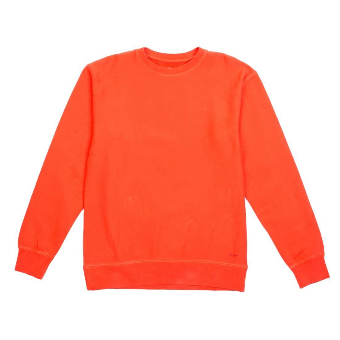 BAIT Men Premium Blank Crew Neck (orange / orange com)