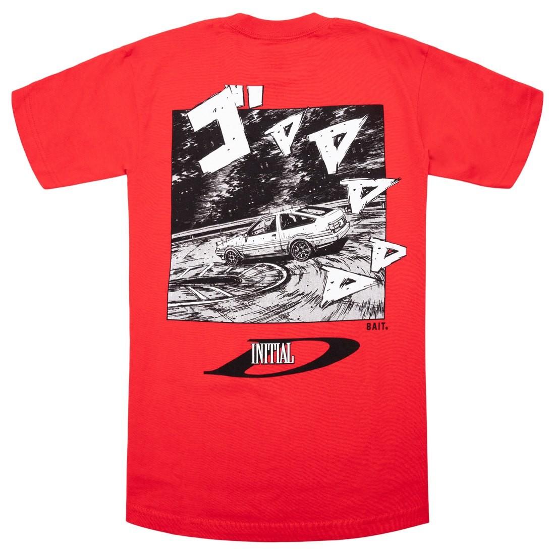BAIT x Initial D Men Drift Design Tee (red)