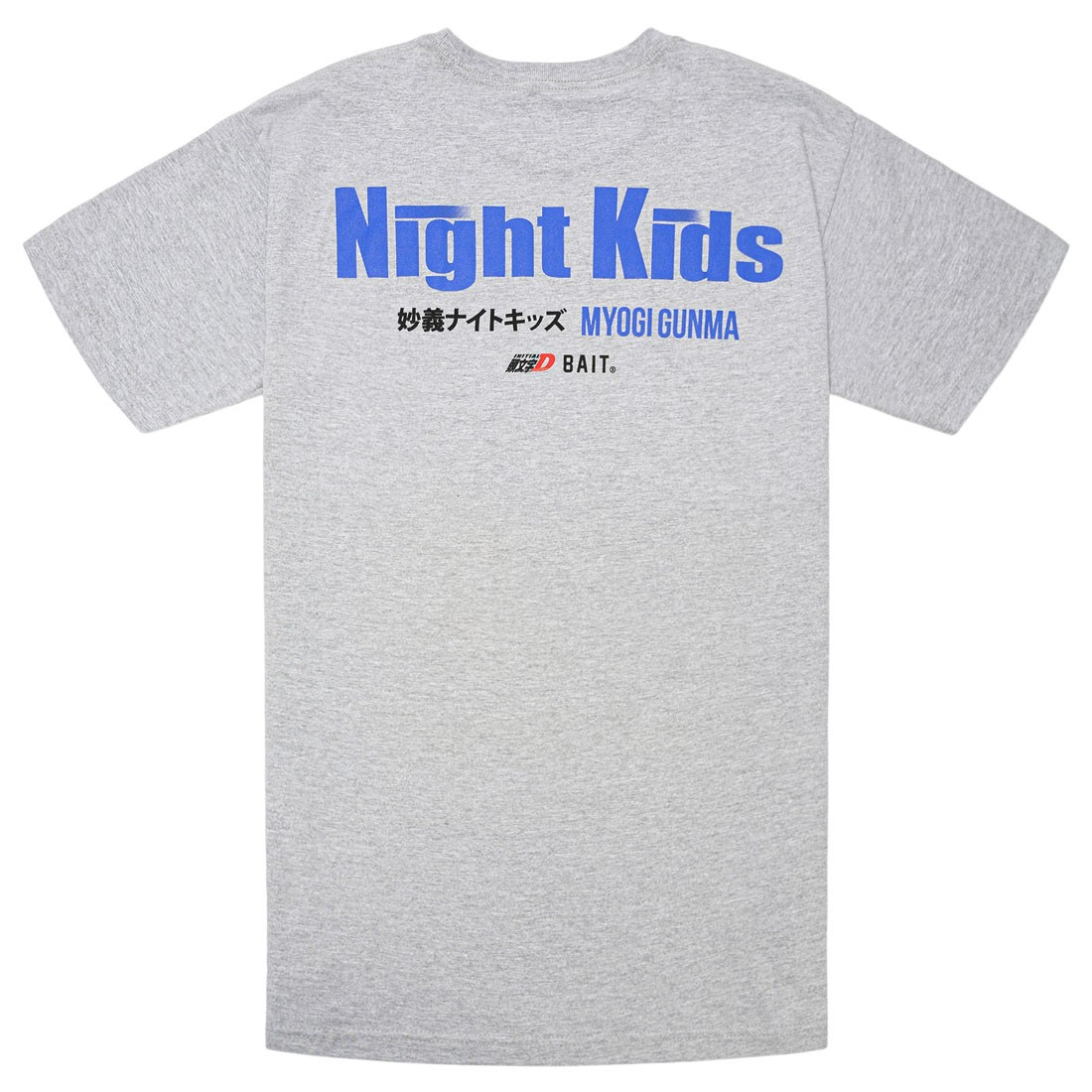 BAIT x Initial D Men Night Kids Tee (gray)