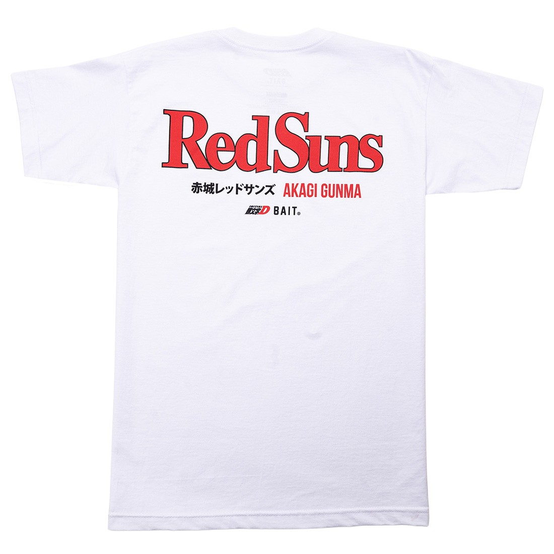 BAIT x Initial D Men Red Suns Tee (white)