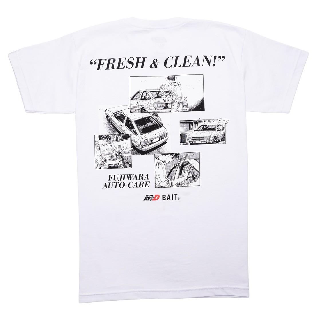 BAIT x Initial D Men So Fresh So Clean Tee (white)
