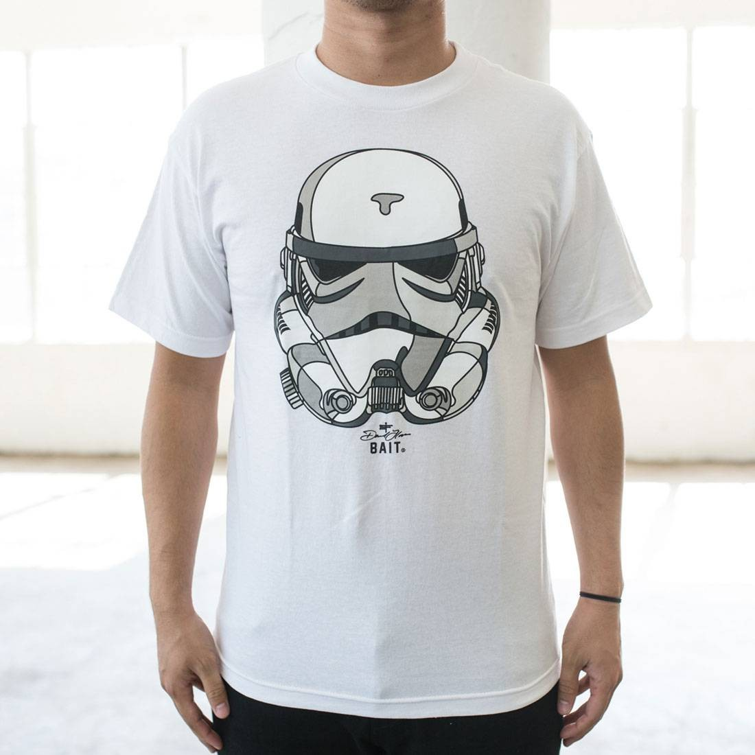 BAIT x David Flores Original Storm Trooper Tee (white)