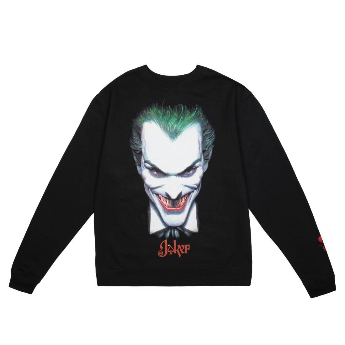 BAIT x Joker Men Face Crewneck Sweater (black)