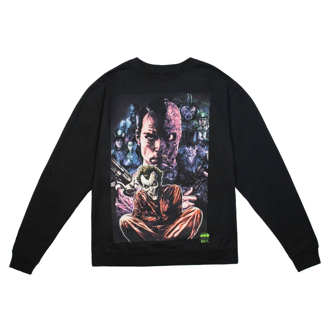 BAIT x Joker Men Villains Crewneck Sweater (black)