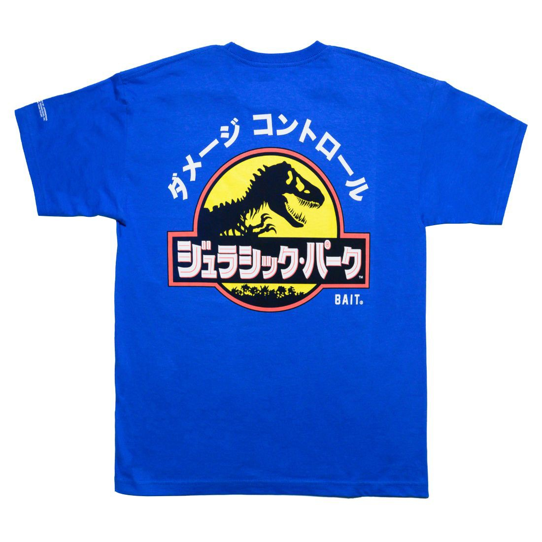 BAIT x Jurassic Park Men Damage Control Tee (blue / royal)