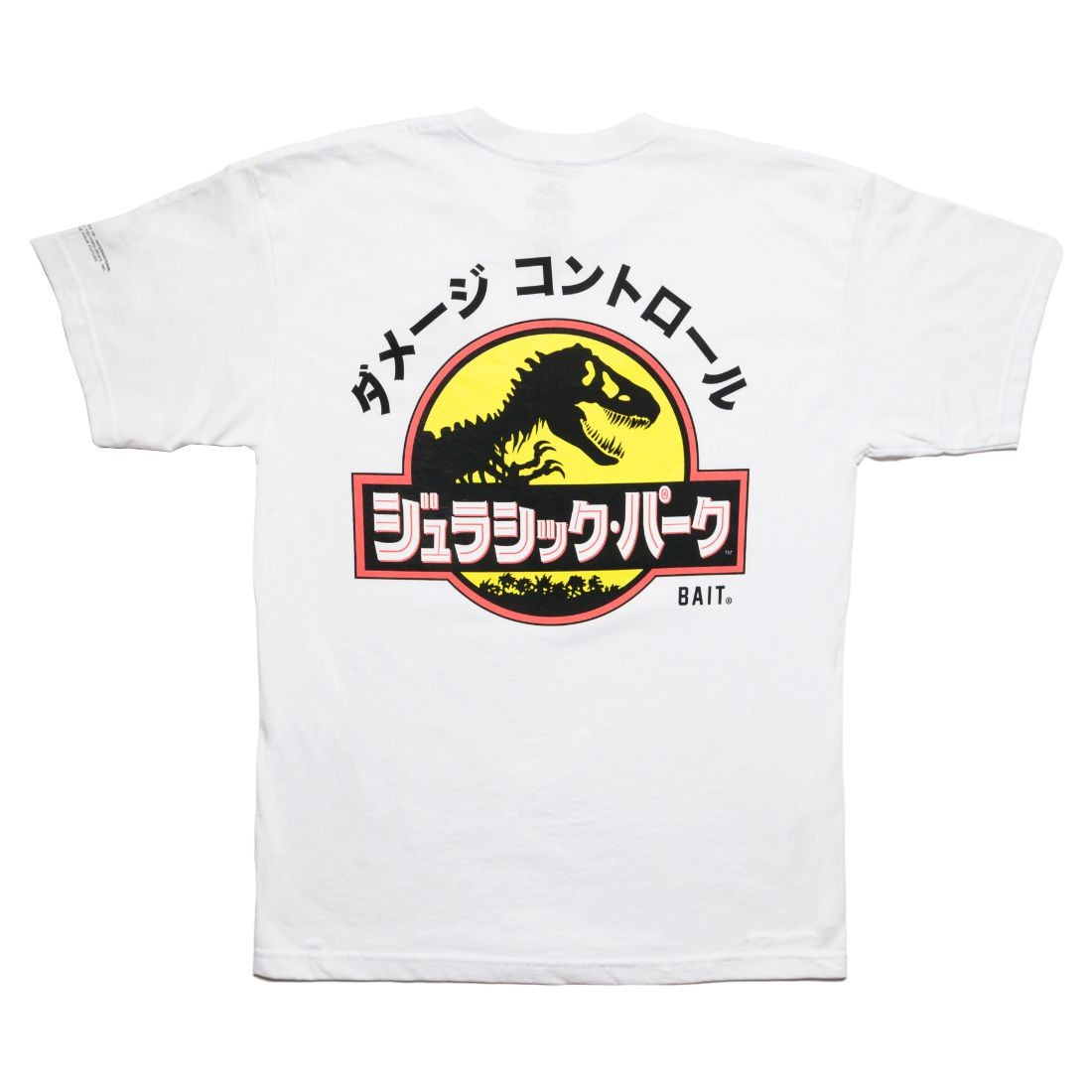 BAIT x Jurassic Park Men Damage Control Tee (white)