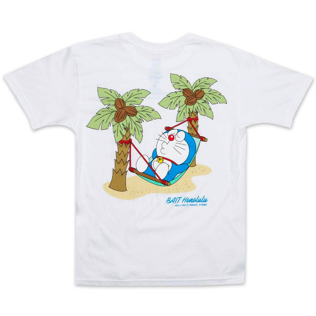 BAIT x Doraemon Youth Honululu Tee (white)