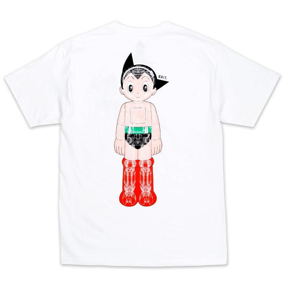 BAIT x Astro Boy Men Mechanics Tee (white)