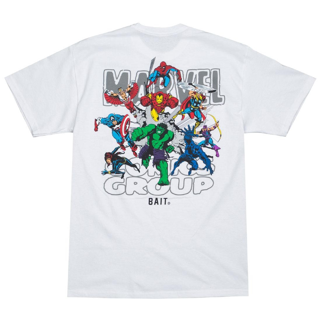 BAIT x Marvel Comics Men Avengers Group Tee (white)