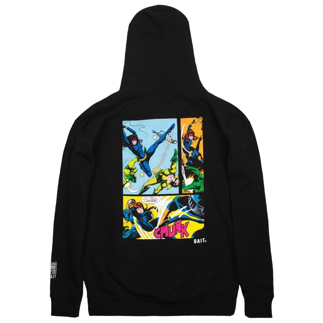BAIT x Marvel Comics Men Black Widow Hoody (black)