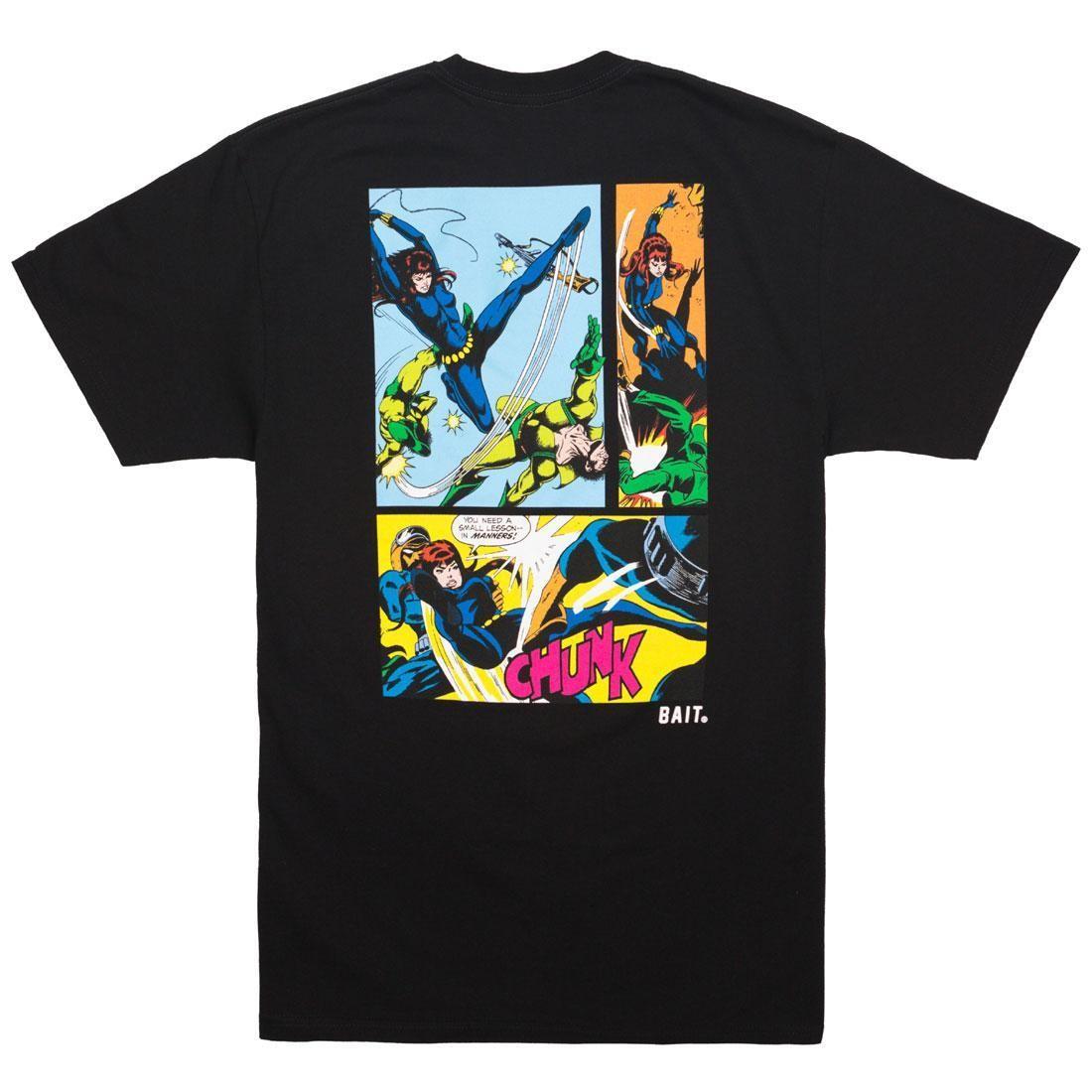 BAIT x Marvel Comics Men Black Widow Tee (black)