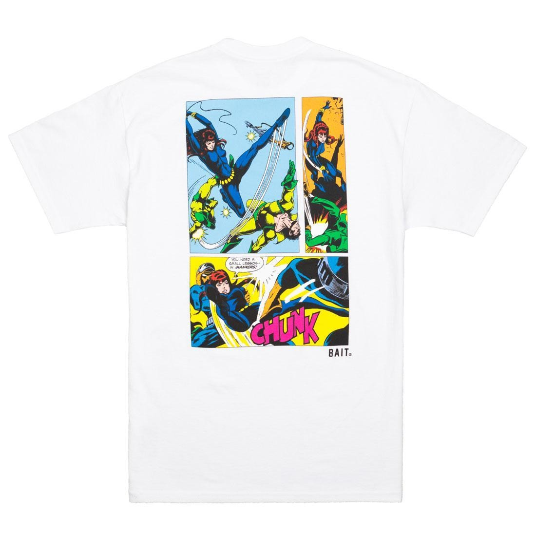 BAIT x Marvel Comics Men Black Widow Tee (white)