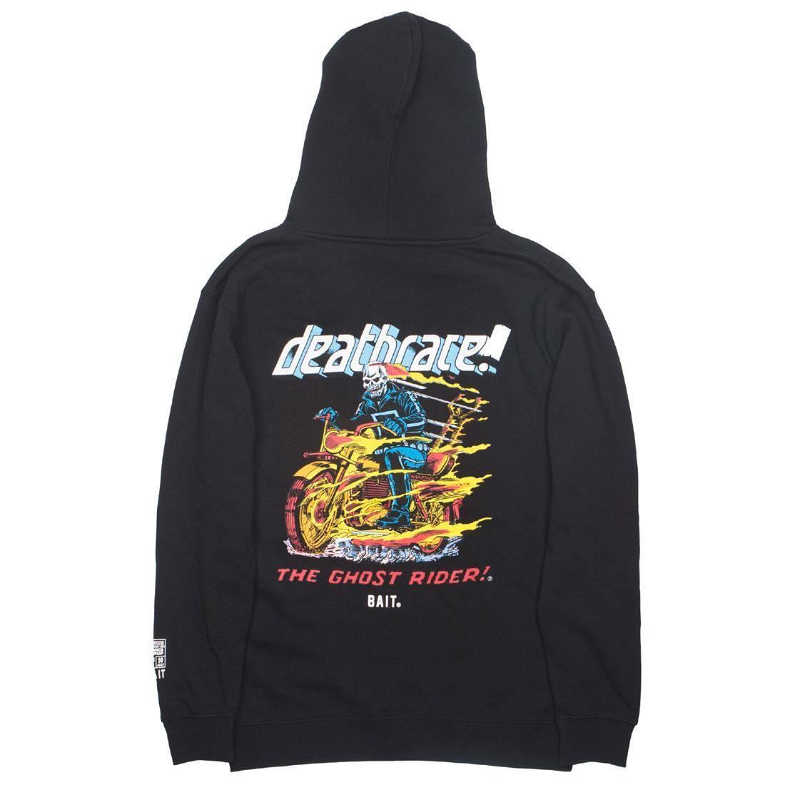BAIT x Marvel Comics Men Ghost Rider Death Race Hoody (black)