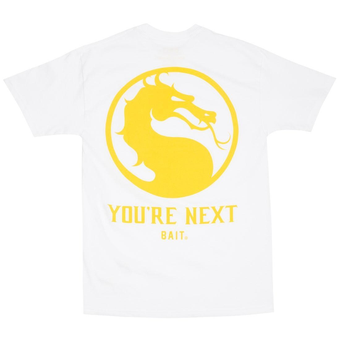 BAIT x Mortal Kombat 11 Men You're Next Tee (white)