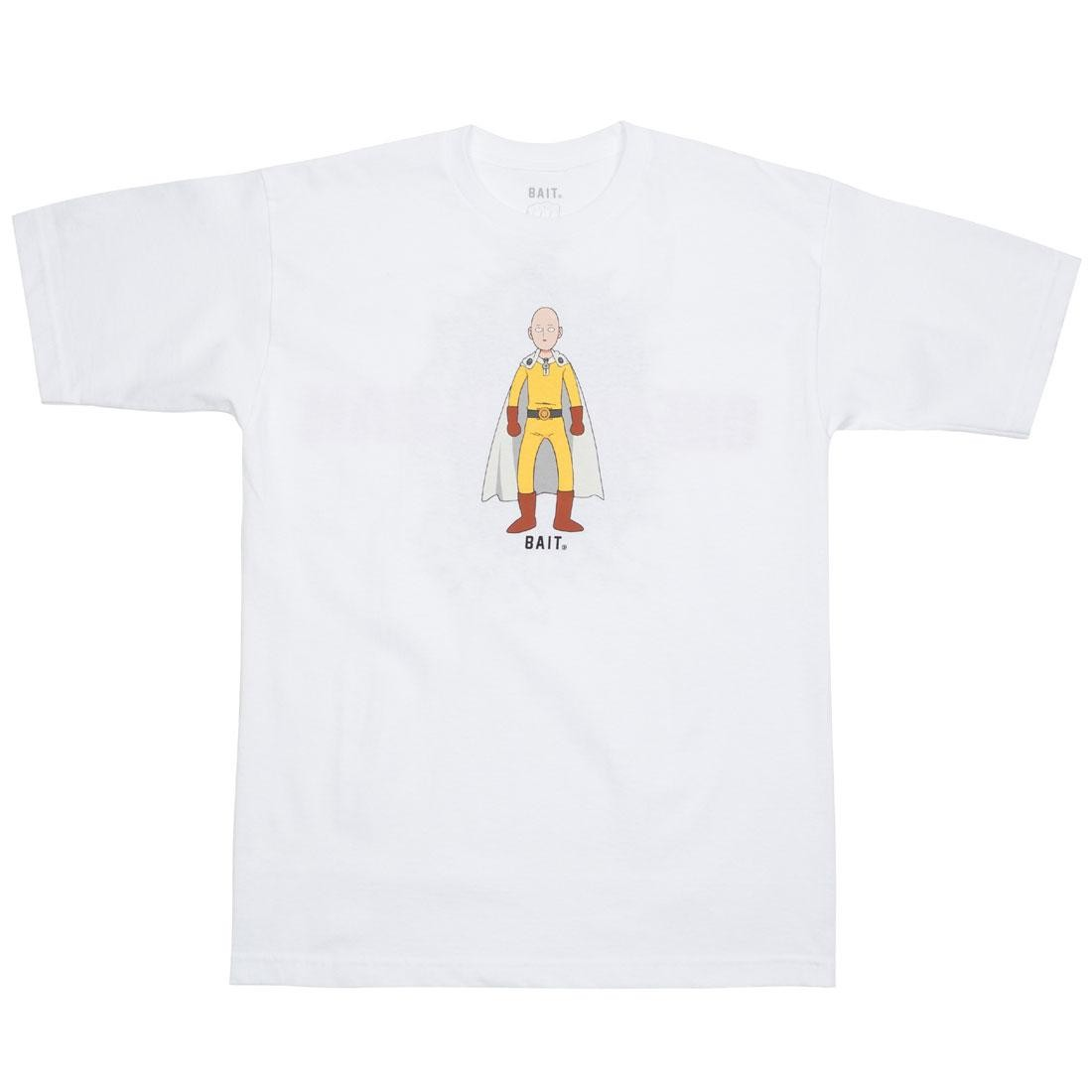 BAIT x One Punch Man Men The Hero Tee (white)