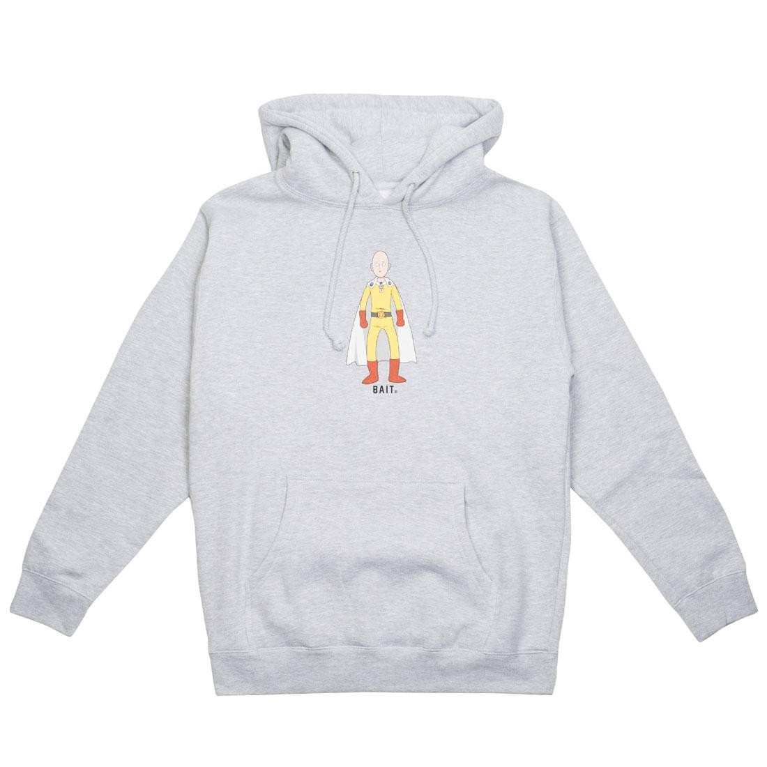 BAIT x One Punch Man Men The Hero Hoody (gray / heather)