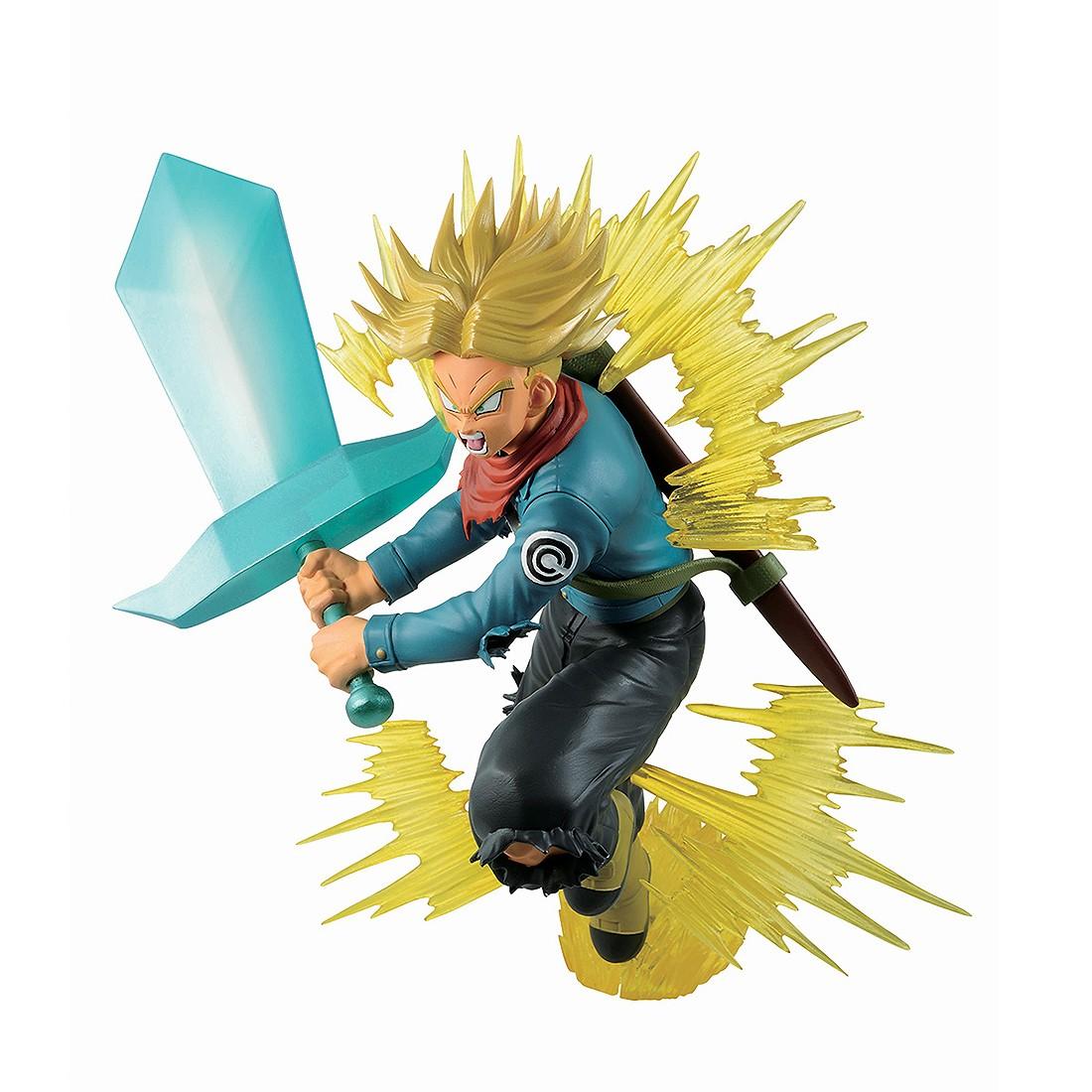 Bandai Ichibansho Dragon Ball Super Super Sayan Future Trunks Figure (blue)