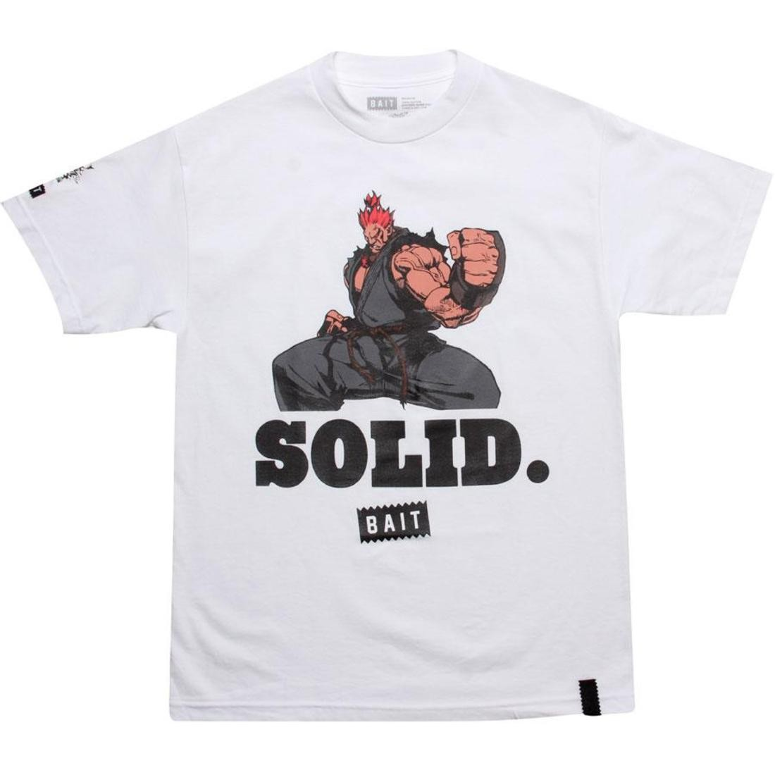 BAIT x Street Fighter Akuma Solid Tee (white)
