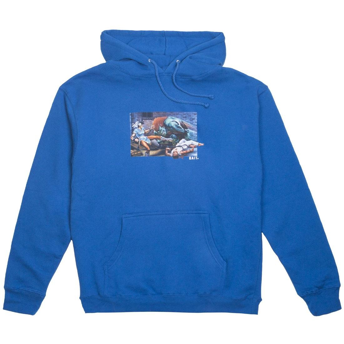 BAIT x Street Fighter Men The World Warrior Hoody (blue / royal)