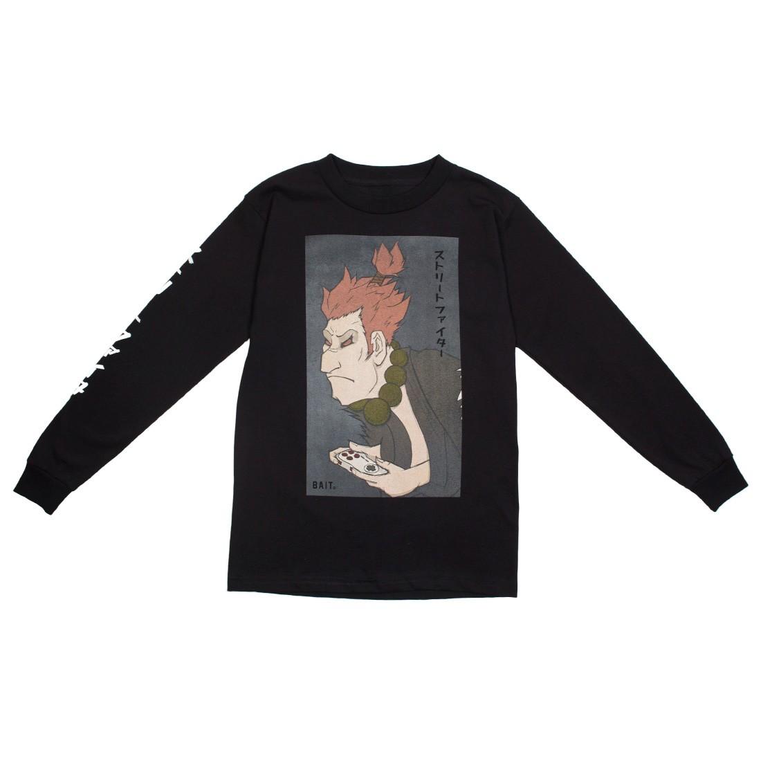 BAIT x Street Fighter x Kidokyo Men Akuma Long Sleeve Tee (black)