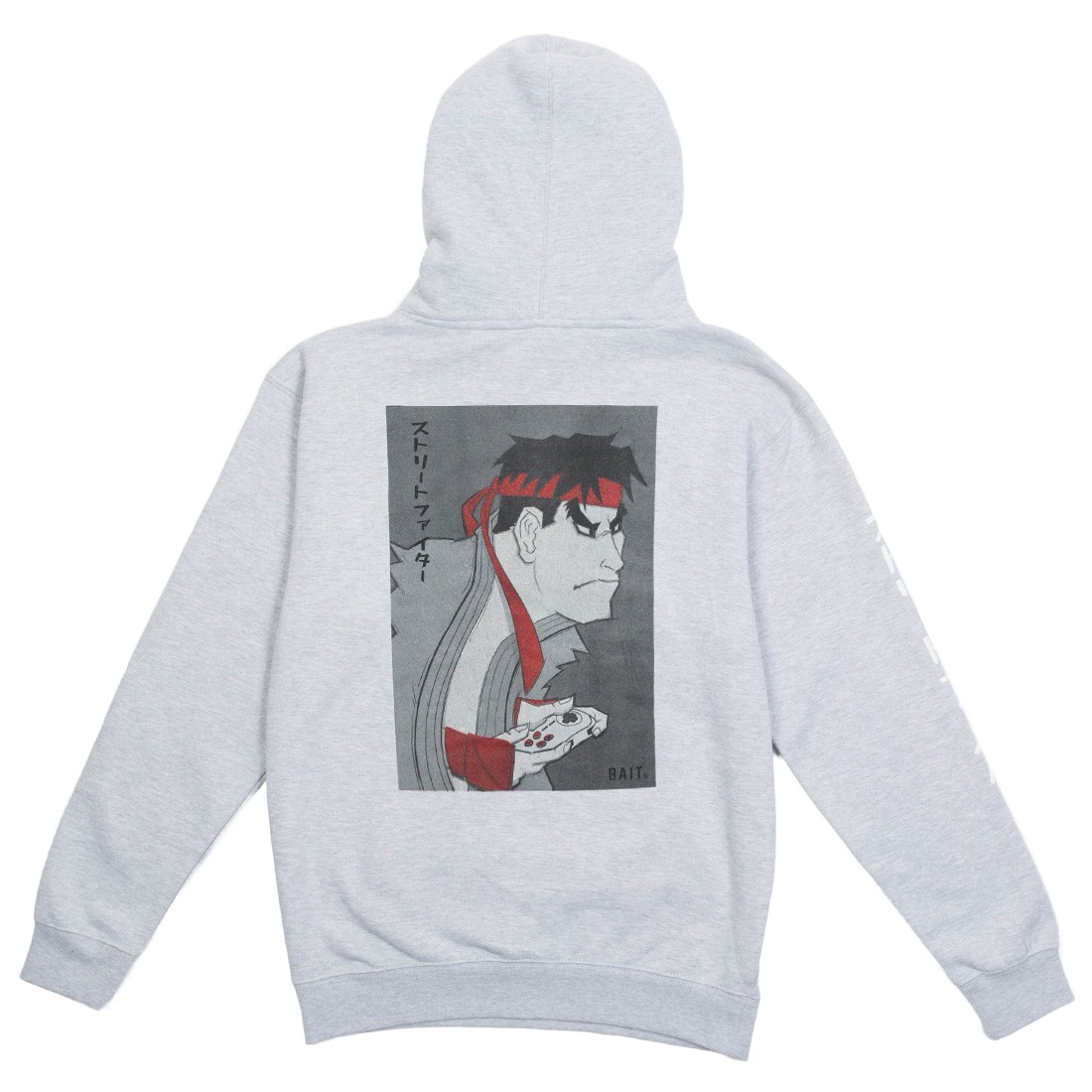 BAIT x Street Fighter x Kidokyo Men Ryu Hoody (gray / heather)