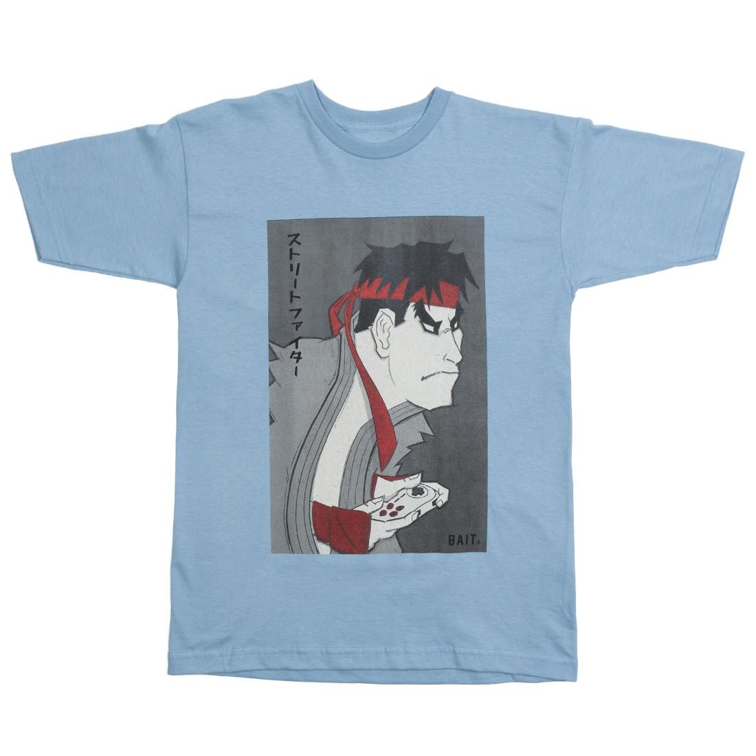 BAIT x Street Fighter x Kidokyo Men Ryu Tee (blue / denim)