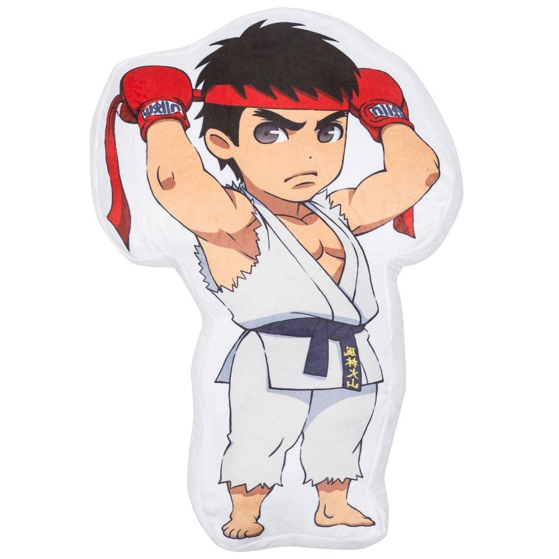 Bait X Street Fighter Ryu Pillow White