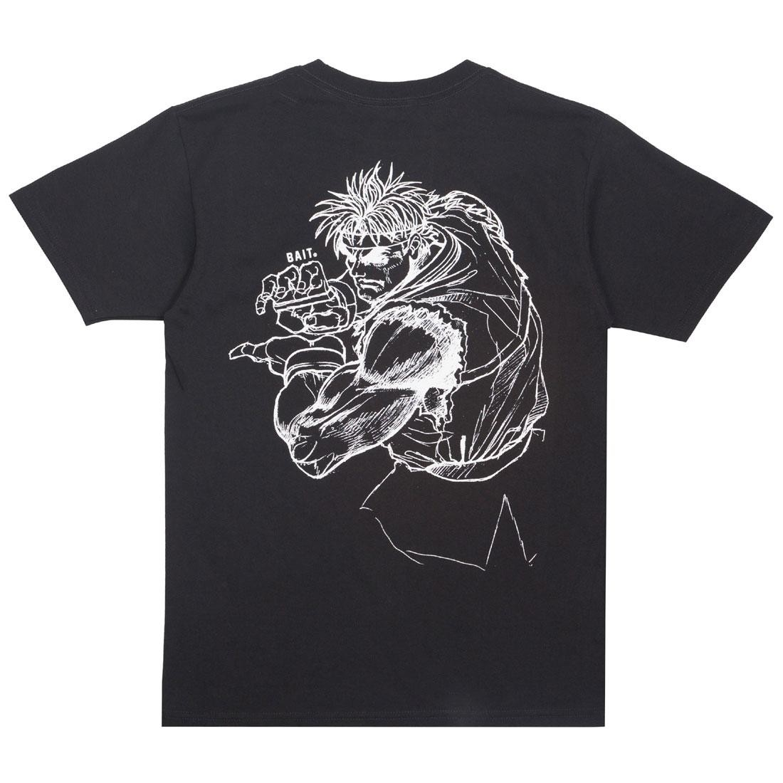 BAIT x Street Fighter Men Ryu Sketch Tee (black)