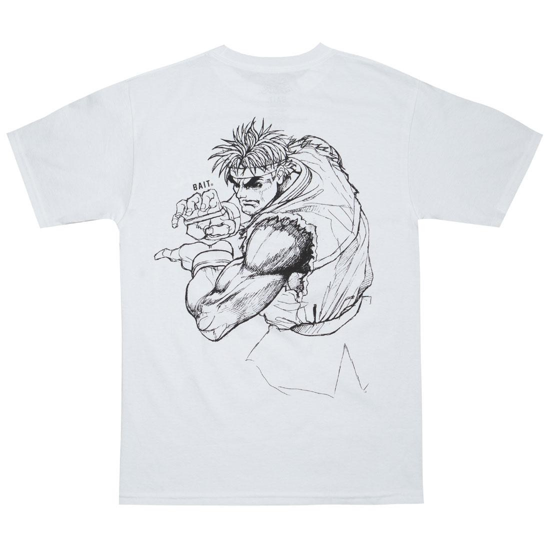 BAIT x Street Fighter Men Ryu Sketch Tee (white)