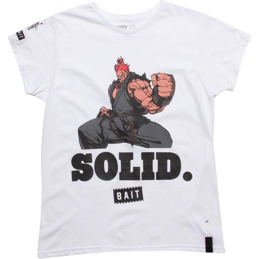 BAIT x Street Fighter Womens Akuma Solid Tee (white)