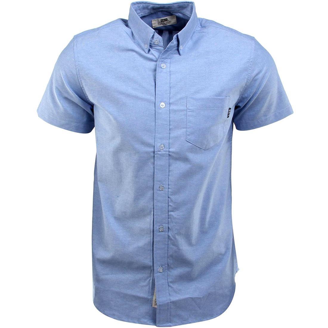 BAIT Oxford Short Sleeve Shirt (blue)