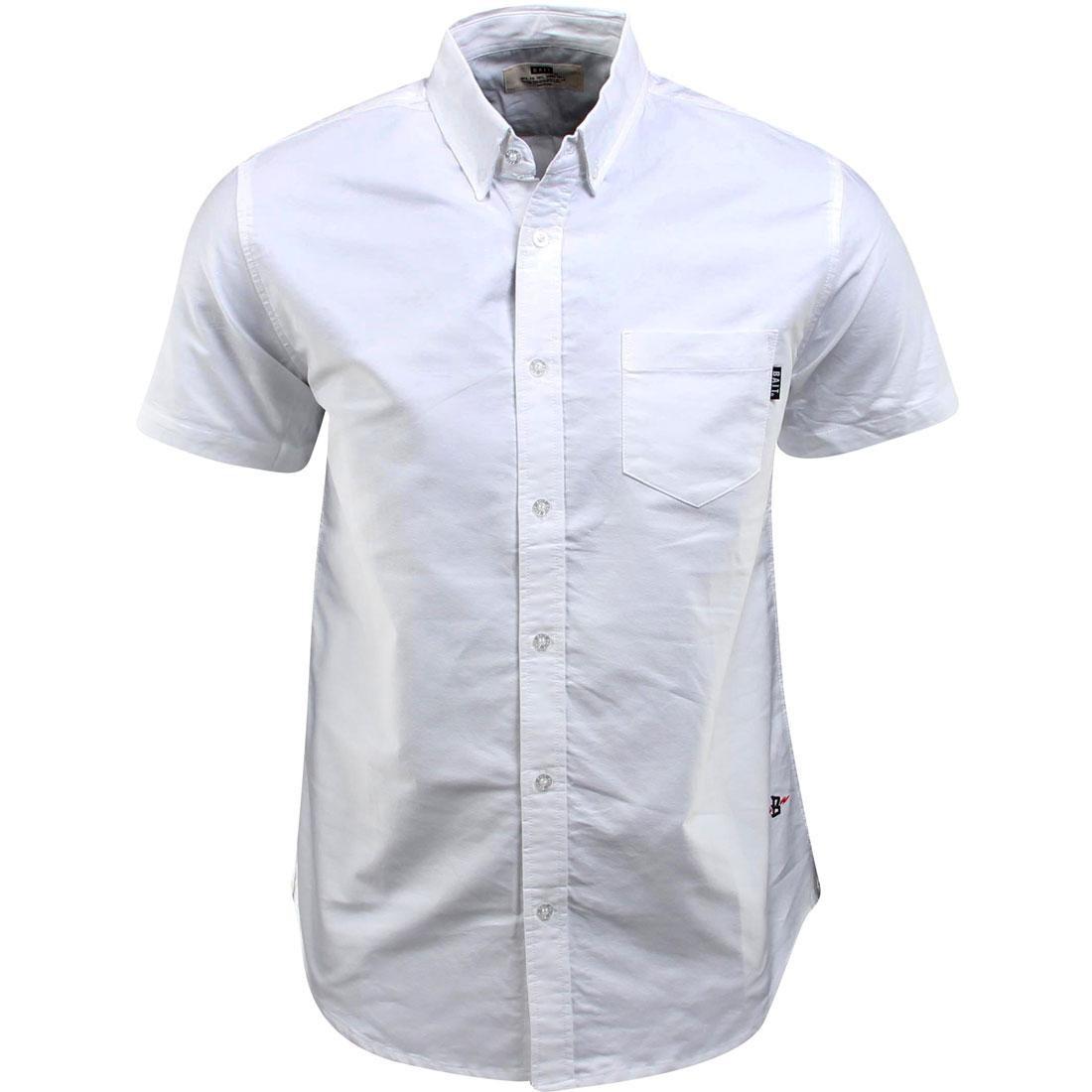 BAIT Oxford Short Sleeve Shirt (white)
